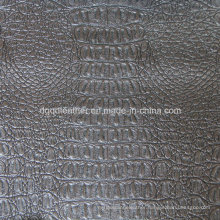 Top Grade Crocodile Design for Upholstery Leather (QDL-53202)