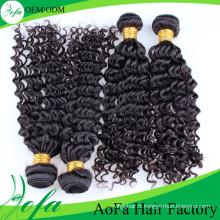 En gros 100% Non Transformés Weavon Cheveux Vierges Extension de Cheveux Humains