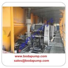 Equipo de bombeo de pulpa de alta presión de minería de oro