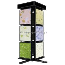 Calidad Asegurada Independiente de Metal de 3 niveles de 4 vías de mármol de baño y pisos de cocina Azulejos de visualización