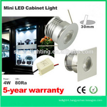 Dongguan cheap 6*4w LED kitchen cabinet light led mini spot light in china