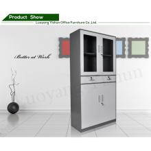 Armário de arquivo fino personalizado da porta de balanço do aço da gaveta do escritório 2