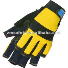 Safety mens fingerless gloves for workingJRM76