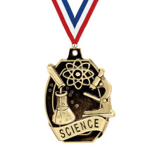 Crown's Science 3D Medal Great For Education