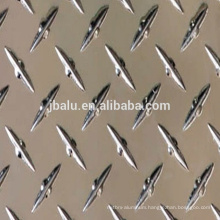 China manufacture 2mm thick roll of aluminum diamond plate sheets