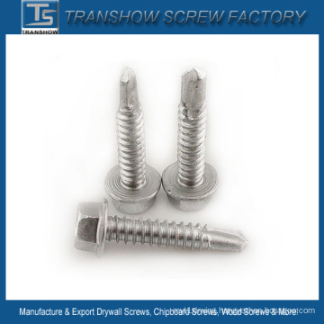 Ruspert Coated Hex Flange Head Tapping Screw