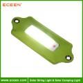 ECEEN tragbare weiße Farbe LED ABS Solar Camping Licht Notfall Ladegerät Licht