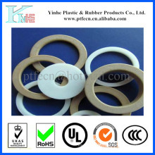 PTFE плоская Тефлоновая Прокладка / седло клапана кольцо Прокладка