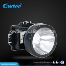 Leistungsstarke Helligkeit Lithium-Batterie wiederaufladbare LED-Bergmann Licht, China führte Lichter
