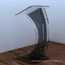 Acrylic Pedestals and Display Stand (Oval Tubular Pedestals)