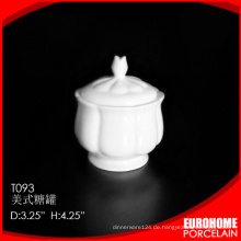 Fabrik-Direktverkauf in China Keramik Porzellan Zucker Pack gemacht
