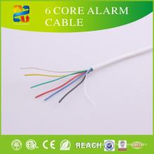 Preço baixo de cobre desencapado contínuo 6 cabo do alarme do núcleo