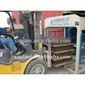 Gebrauchte Beton Hohlblock Ziegelstein Maschine heißer Verkauf in Indien