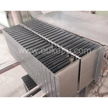 Flange tipo transformador radiador, aleta do radiador de transformador, transformador radiador fin
