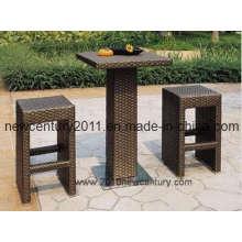 Rattan Bar Table, Chair (NC7002)