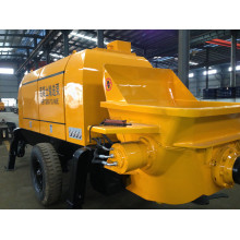 Bomba de concreto 90m3 / H Diesel, Bomba móvil de hormigón, Bombeo de hormigón, Bombeo de hormigón