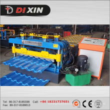 Dx 1100 Máquina De Formação De Rolos De Telha Glazed De Alta Velocidade