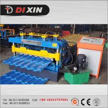 Dx 1100 alta velocidade telha vitrificada rolo dá forma à máquina