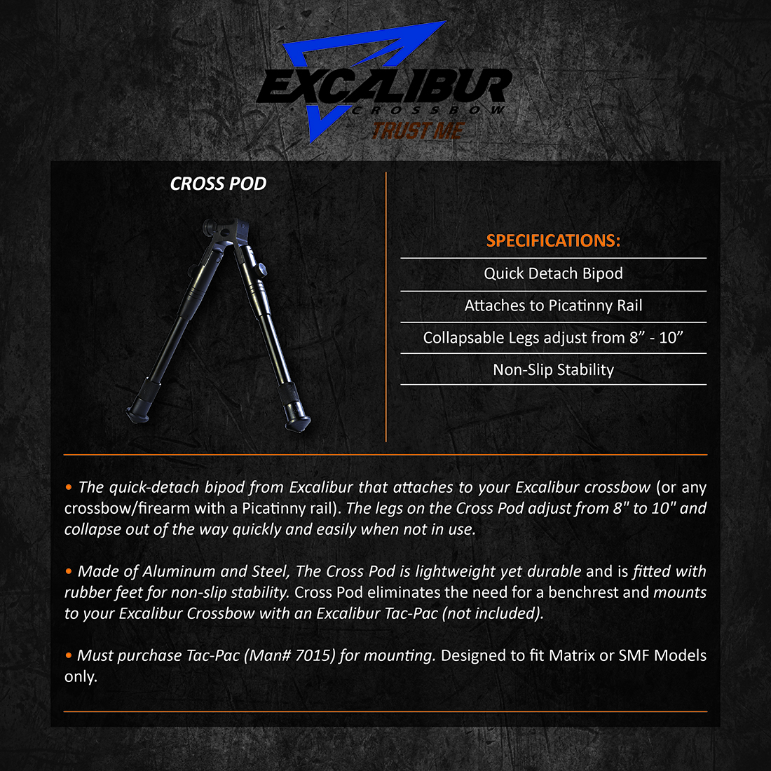 Excalibur_Cross_Pod_Product_Description