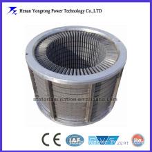DC/AC motor stator and rotor laminated core