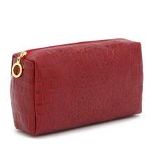 Lady Fashion Red Stone Pattern PU Clutch Cosmetic Bag (YKY7518)