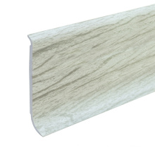 Printed outdoor skirting board with wood colors