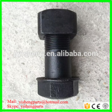 china factpry supply material 40Cr excavator track bolt nut M20*56