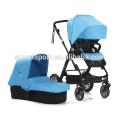 western style baby stroller 3 in 1