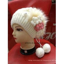 Nova Moda Moda Moda Knit Flor Lady Girl Hat Beanie
