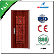Wrought Iron Exterior Door with Sidelight