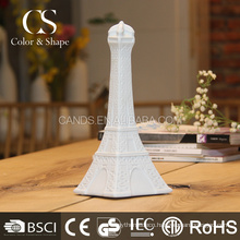 Rechargeable energy saving tower led table lamp for home decoration