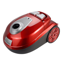 new red canister vacuum cleaner