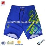 peach microfiber brand men's beach shorts