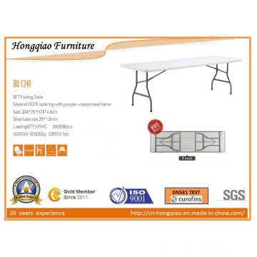 8ft Modern Cheap Plastic Folding Table