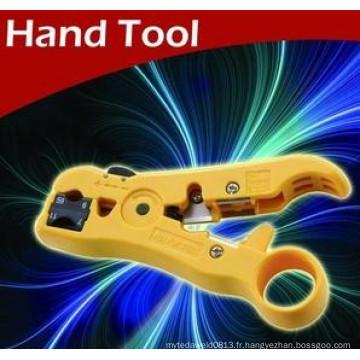 2015 Nouveaux produits Fil dépouillant outils câble gaine décapant câble d'alimentation stripper outils à main décapant