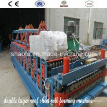 Máquina formadora de rollos de lámina corrugada (AF-R836)