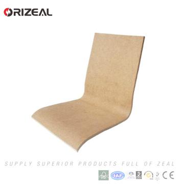 Silla plegable de la silla de la madera contrachapada de la venta grande de la fábrica Seat y reemplazo trasero de la silla de cena para la zona de restaurantes