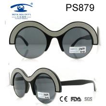 Funny Round Eye Shape Sunglasses, Plastic Sunglasses, Fashion Sunglasses (PS879)