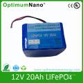 Batterie au lithium rechargeable de la batterie 12V 20ah de LiFePO4 pour UPS