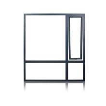 Feelingtop ventana abatible de aluminio / aluminio (FT-ventana de madera de aluminio)