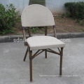 TC-(3) Modern teslin fabric chair/ textile dining chair