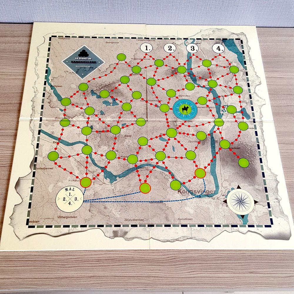 Paper Game Board