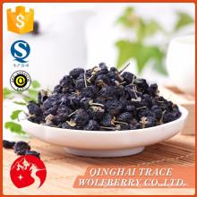 Niedriger Preis garantiert Qualität getrocknete schwarze Wolfberry 100%