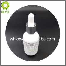 30ml luxury white colored empty perfume cosmetic packing thickness bottom glass dropper bottle