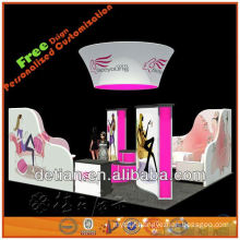 10'*20' booth stand aluminium portable exhibition with Shangahi Detian design