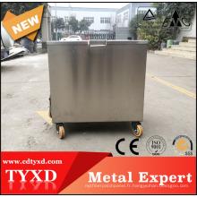 Usine directe chimique chauffée en acier inoxydable réservoir de trempage