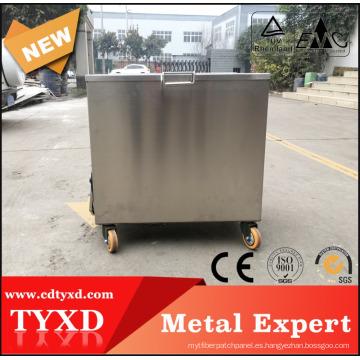 tanque de inmersión de acero inoxidable con calefacción química directa de fábrica