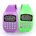 Fashion Kids Plastic Calculator Watches