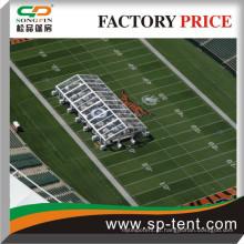 Teto claro e parede Tendas de esportes para venda campo de futebol