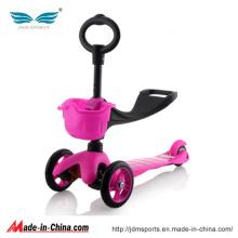 Crianças Scooter Mini Scooter Três rodas Kick Scooter
